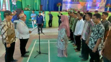 Photo of Bupati Lantik Koordinator Olahraga Kecamatan Telen