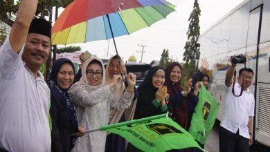 Photo of Ketua DPRD Kutim Lepas Keberangkatan 17 Bus Jamaah Haul Guru Sekumpul