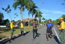 Photo of Mayor arh Bangun Bara, Gelar Olahra bersama Prajurit Denarhanud 002/ABC