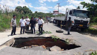 Photo of 3 Langkah Penanganan Jalan Amblas di Poros Sangatta – Bontang
