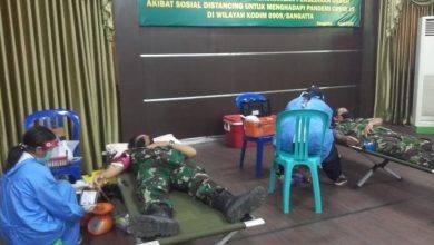 Photo of Kodim 0909/Sgt Ambil Peran Mengatasi Kekurangan Stok Darah PMI