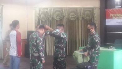 Photo of Kasdim 0909/Sgt Buka Penataran Kader Bela Negara di Wilayah Kodam VI/Mulawarman Tahun 2020.