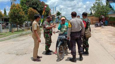 Photo of Koramil 0909-02 Sangkulirang Berikan Himbauan Pendisiplinan Wajib Masker Dan Protokol Kesehatan.