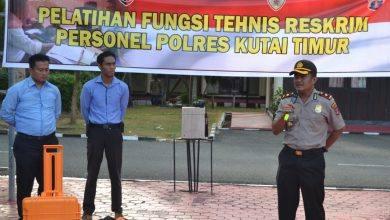 Photo of Wakapolres Kutim Disemayamkan di Pemakaman KM 15 Balikpapan