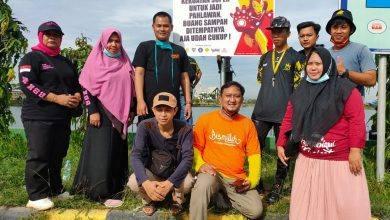 Photo of Aksi Hijabers dan Komunitas Milenial Kutai Timur Di Polder Ilham Maulana