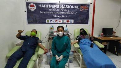 Photo of Jurnalis Kutim Donorkan Darahnya Pada Peringatan HPN 2021