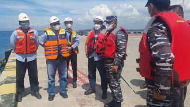 Photo of Komandan Lanal Sidak Dermaga Marine PT. KPC.
