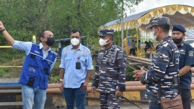 Photo of Komandan Lanal Sangatta Hadiri Exercise ISPS Code di Dermaga Jetty PT.GAM