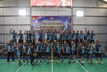 Photo of Danlanal Sangatta Juarai Pertandingan Bulu Tangkis