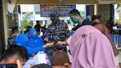 Photo of Lanal Sangatta Laksanakan Jemput Bola Vaksinasi ke Sekolah