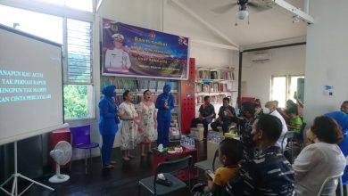 Photo of Peringati HUT TNI Ke-76, Lanal Sangatta Kunjungi SLB Bahasa Hati
