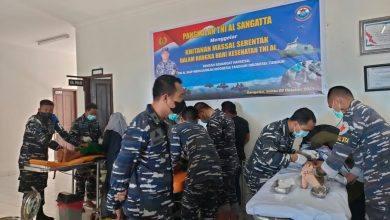 Photo of Lanal Sangatta Gelar Khitanan Masal Hari Kesehatan TNI AL