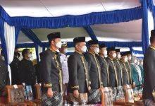 Photo of Danlanal Sangatta Ikuti Upacara HUT Kutim ke-22